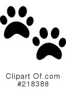 Animal Tracks Clipart #218388