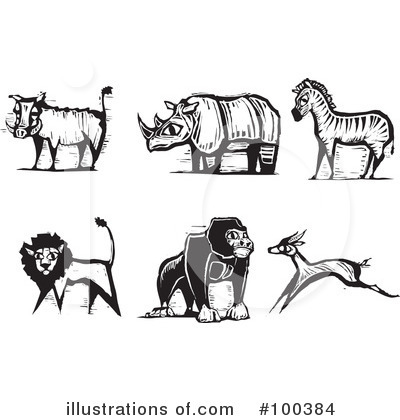Animals Clipart #100384 by xunantunich