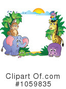 Royalty-Free (RF) Animals Clipart Illustration #1059835