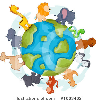 Giraffe Clipart #1063462 by BNP Design Studio