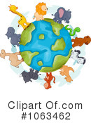 Royalty-Free (RF) animals Clipart Illustration #1063462