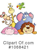 Royalty-Free (RF) Animals Clipart Illustration #1068421