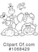 Animals Clipart #1068429 by Hit Toon