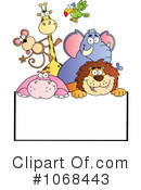 Royalty-Free (RF) Animals Clipart Illustration #1068443