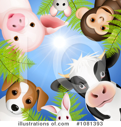 Cow Clipart #1081393 by Oligo