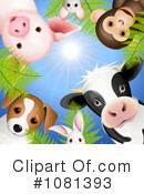 Royalty-Free (RF) animals Clipart Illustration #1081393