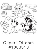 Royalty-Free (RF) Animals Clipart Illustration #1083310