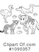 Animals Clipart #1090357 by visekart