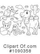 Royalty-Free (RF) Animals Clipart Illustration #1090358