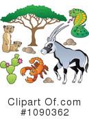 Royalty-Free (RF) Animals Clipart Illustration #1090362