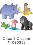 Animals Clipart #1090363 by visekart