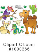 Royalty-Free (RF) Animals Clipart Illustration #1090366