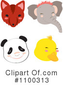 Royalty-Free (RF) Animals Clipart Illustration #1100313