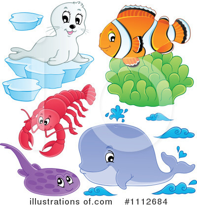 Whale Clipart #1112684 by visekart