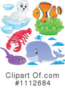 Royalty-Free (RF) animals Clipart Illustration #1112684