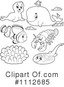 Royalty-Free (RF) Animals Clipart Illustration #1112685