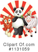 Royalty-Free (RF) Animals Clipart Illustration #1131059