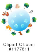 Royalty-Free (RF) animals Clipart Illustration #1177811