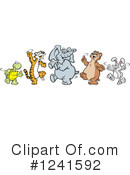 Animals Clipart #1241592 by Johnny Sajem