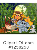 Royalty-Free (RF) Animals Clipart Illustration #1258250