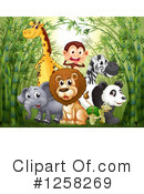 Royalty-Free (RF) Animals Clipart Illustration #1258269