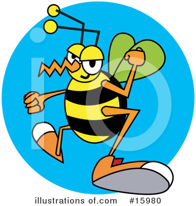 Wasp Clipart #15980 by Andy Nortnik