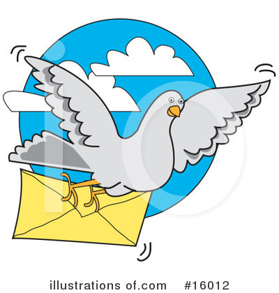 Communications Clipart #16012 by Andy Nortnik