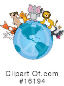 Royalty-Free (RF) animals Clipart Illustration #16194