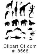 Royalty-Free (RF) Animals Clipart Illustration #18568