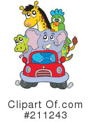 Royalty-Free (RF) Animals Clipart Illustration #211243