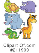 Royalty-Free (RF) Animals Clipart Illustration #211909
