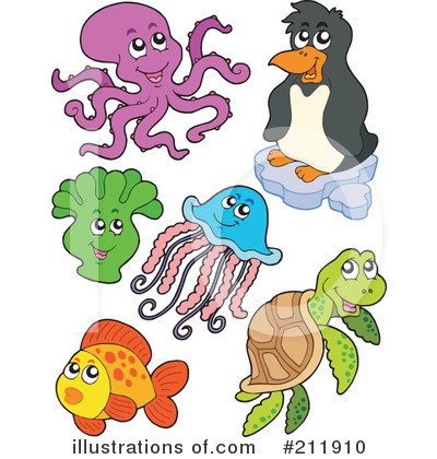 Sea Turtle Clipart #211910 by visekart