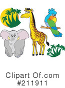 Royalty-Free (RF) Animals Clipart Illustration #211911