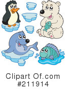 Royalty-Free (RF) Animals Clipart Illustration #211914