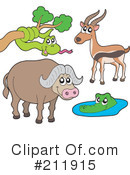 Royalty-Free (RF) Animals Clipart Illustration #211915