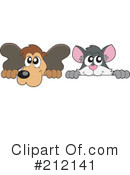 Royalty-Free (RF) Animals Clipart Illustration #212141