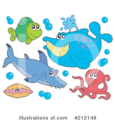 Whale Clipart #212148 by visekart