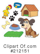 Royalty-Free (RF) Animals Clipart Illustration #212151