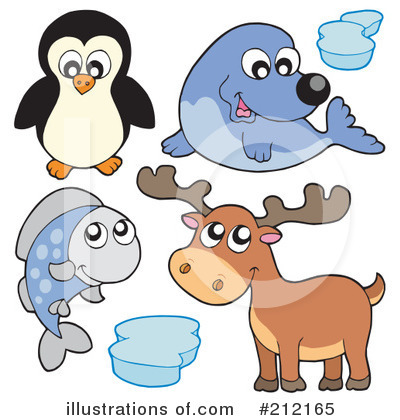Royalty-Free (RF) Animals Clipart Illustration by visekart - Stock Sample #212165