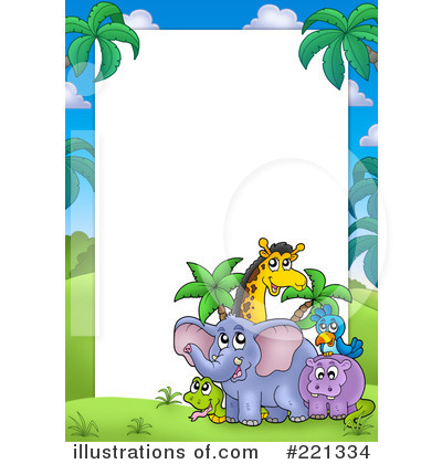 Royalty-Free (RF) Animals Clipart Illustration by visekart - Stock Sample #221334