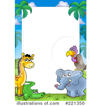 Royalty-Free (RF) Animals Clipart Illustration by visekart - Stock Sample #221350