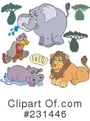 Animals Clipart #231446 by visekart