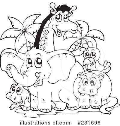 Animals Clipart #231696 - Illustration by visekart