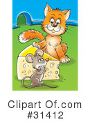 Royalty-Free (RF) Animals Clipart Illustration #31412
