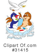 Royalty-Free (RF) Animals Clipart Illustration #31415