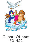 Royalty-Free (RF) Animals Clipart Illustration #31422
