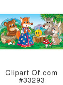 Royalty-Free (RF) Animals Clipart Illustration #33293