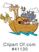 Animals Clipart #41130 by Dennis Holmes Designs