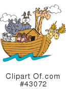 Animals Clipart #43072 by Dennis Holmes Designs