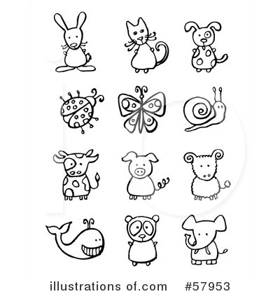 Animals Clipart #57953 by NL shop